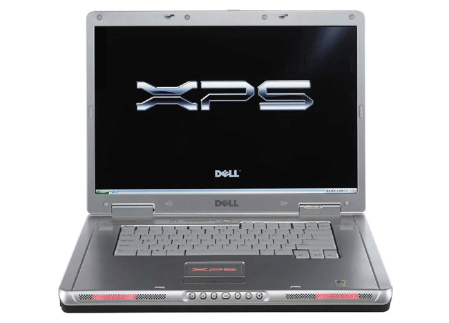 used laptop Dell XPS M1710